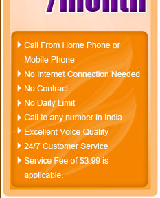 Cheap & Best India International Calling Card or Phone Card
