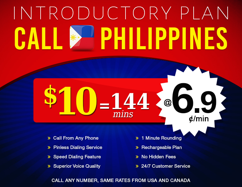 Call Philippines | Philippines Calling Card | Cheap Calls to Philippines