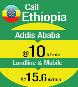 Phone Card Ethiopia