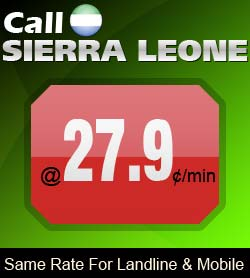 Phone Card Sierra Leone